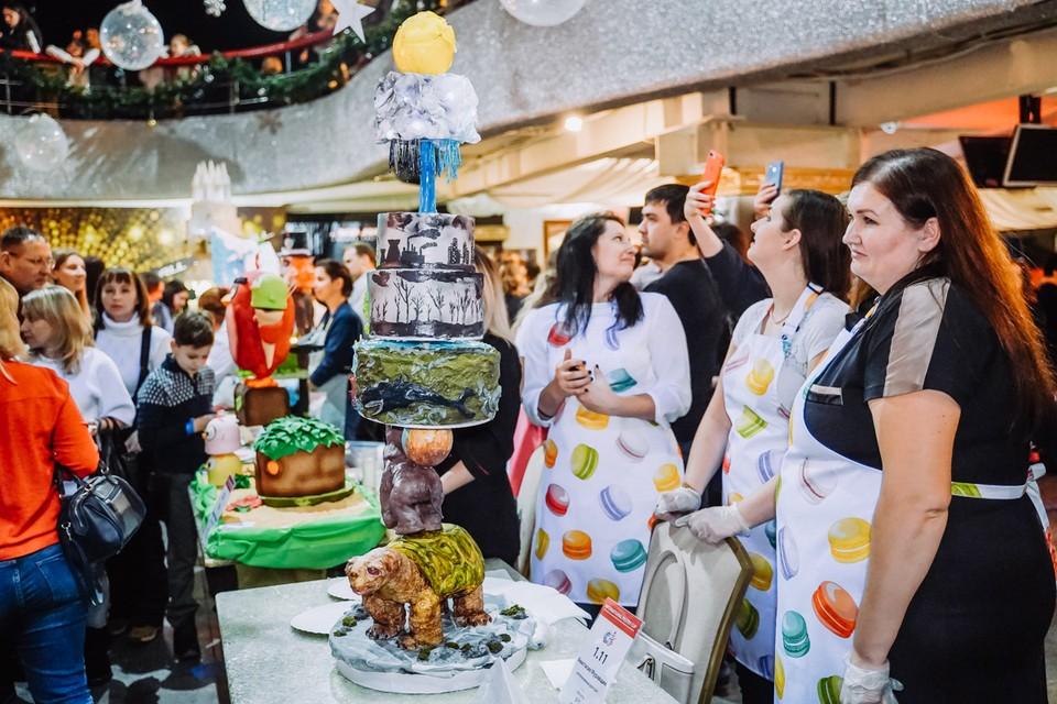 На празднике были представлены самые необычные кулинарные творения