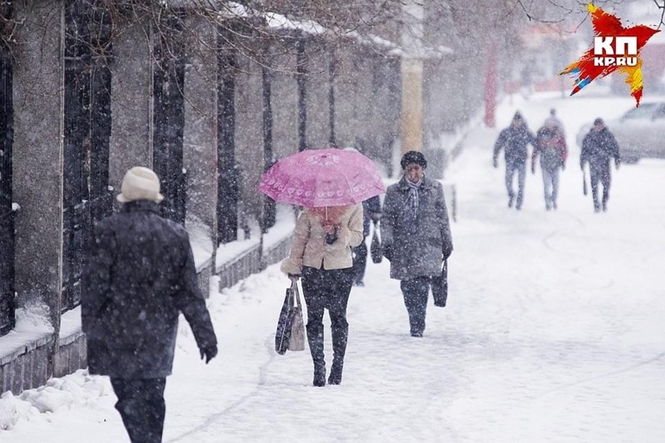 На Тверскую область обрушился снегопад