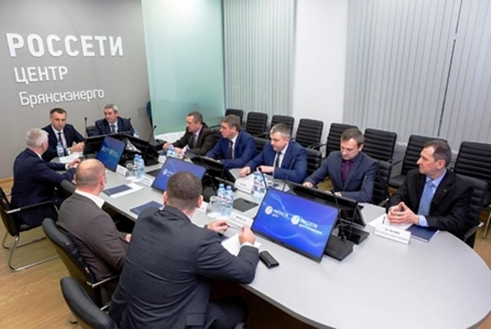 В филиале «Россети Центр Брянскэнерго» состоялась рабочая встреча с представителями ГПО «Белэнерго».