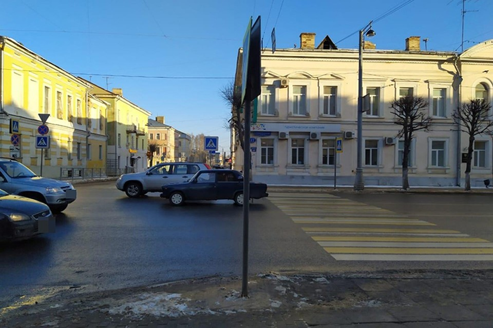 В Твери произошло два ДТП с участием пешеходов Фото: УГИБДД России по Тверской области