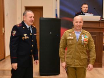 В Пензе ветераны рассказали полицейским о событиях в Афганистане