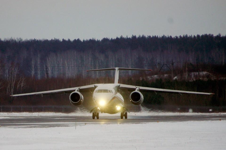 На борту самолета соблюдались все меры предосторожности