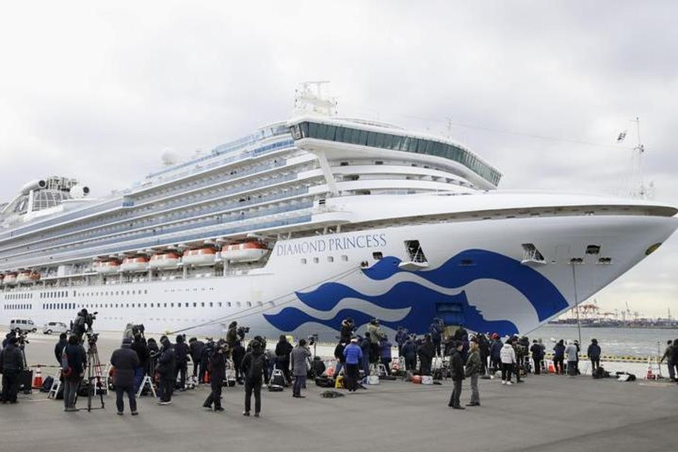 Карантин с лайнера Diamond Princess власти Японии сняли 19 февраля