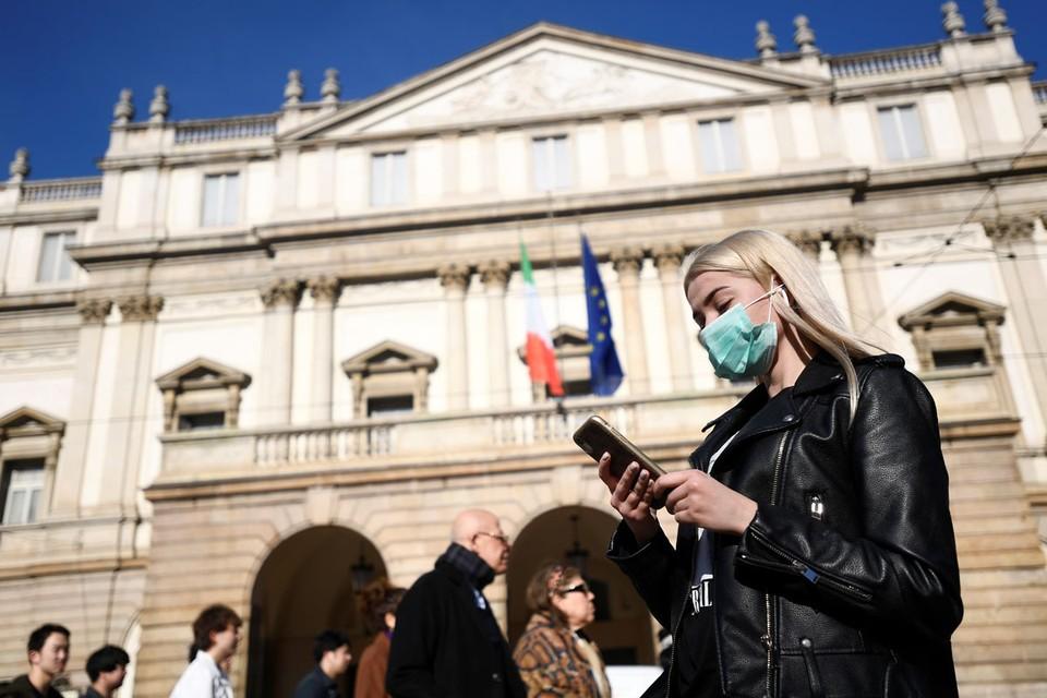 Биржи нервно отреагировали на сообщения о вспышке эпидемии в Италии
