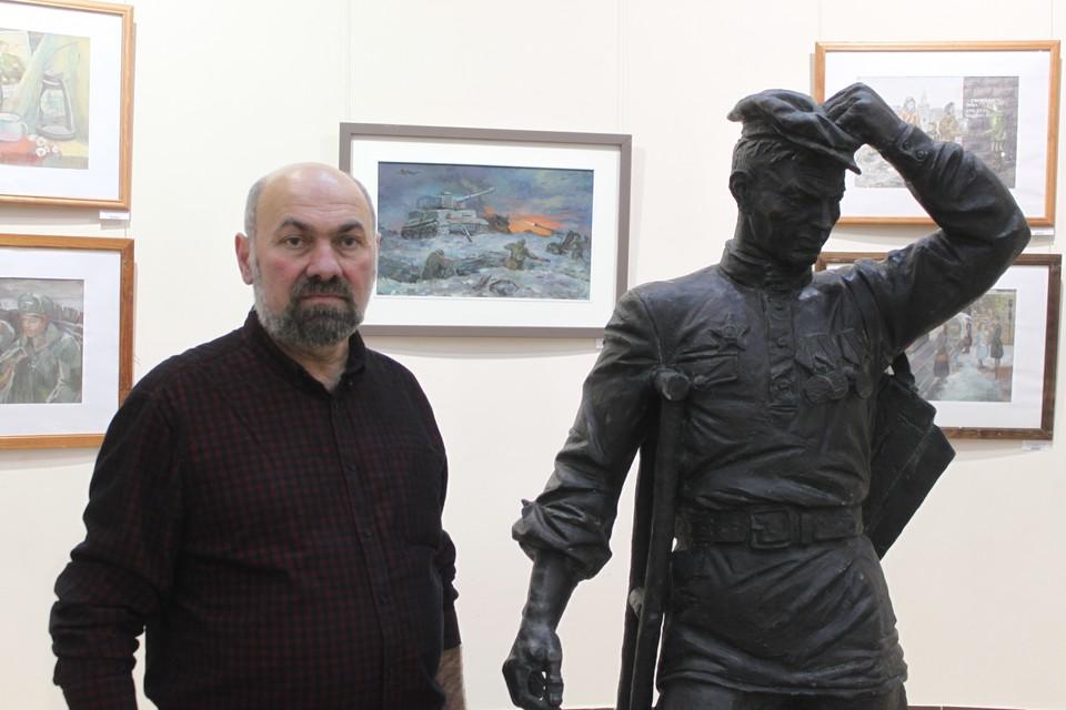 После экскурсии по городу художник побеседовал с «Комсомолкой»