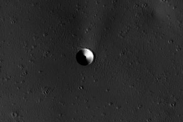 Гигантский унитаз на Марсе вновь привлек внимание NASA