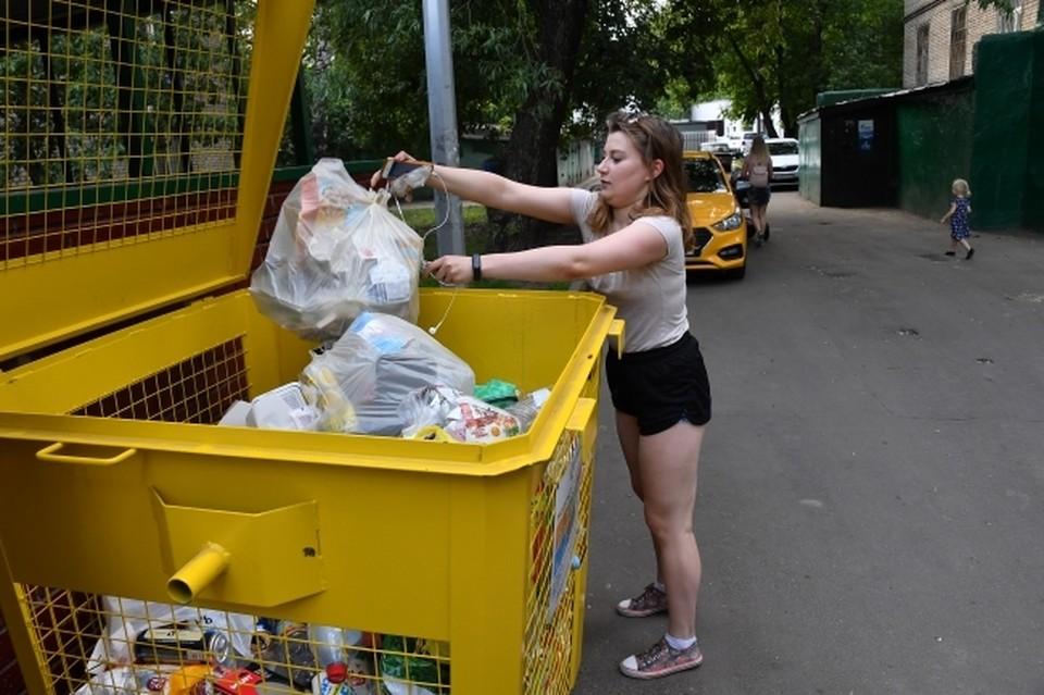 Перед передачей эко-такси отходы для рециклинга нужно предварительно рассортировать