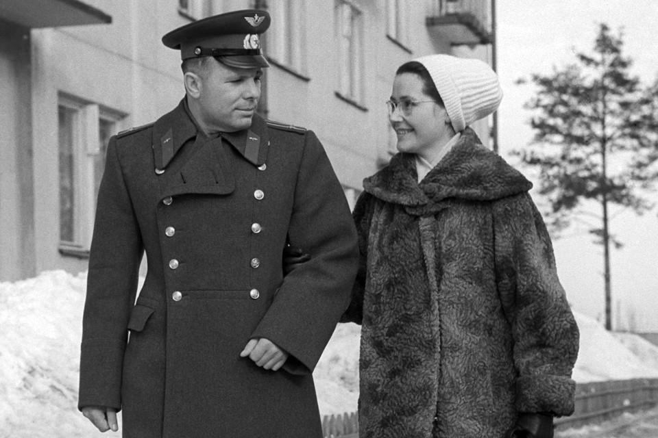 Валентина Гагарина - вдова легендарного советского космонавта