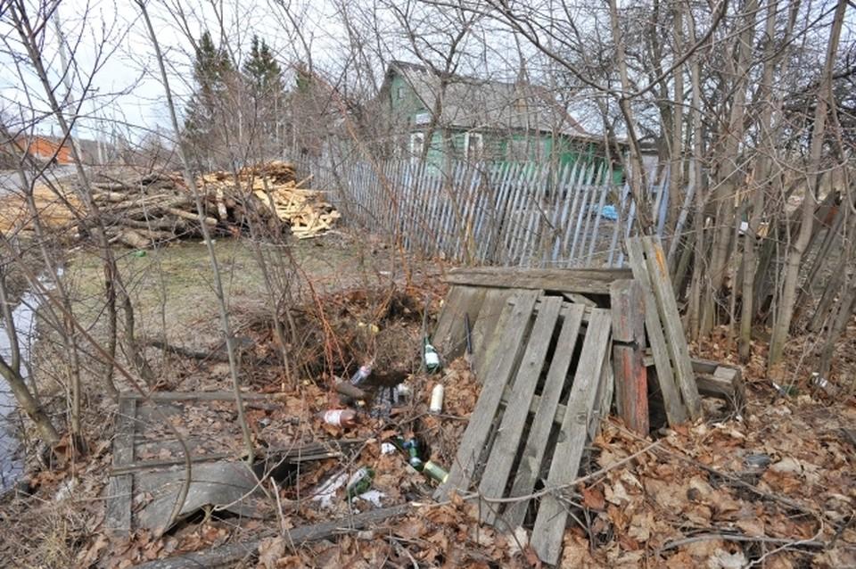 Веток, сухой травы, листьев и прочего мусора всегда хватает на дачах и в частном секторе.