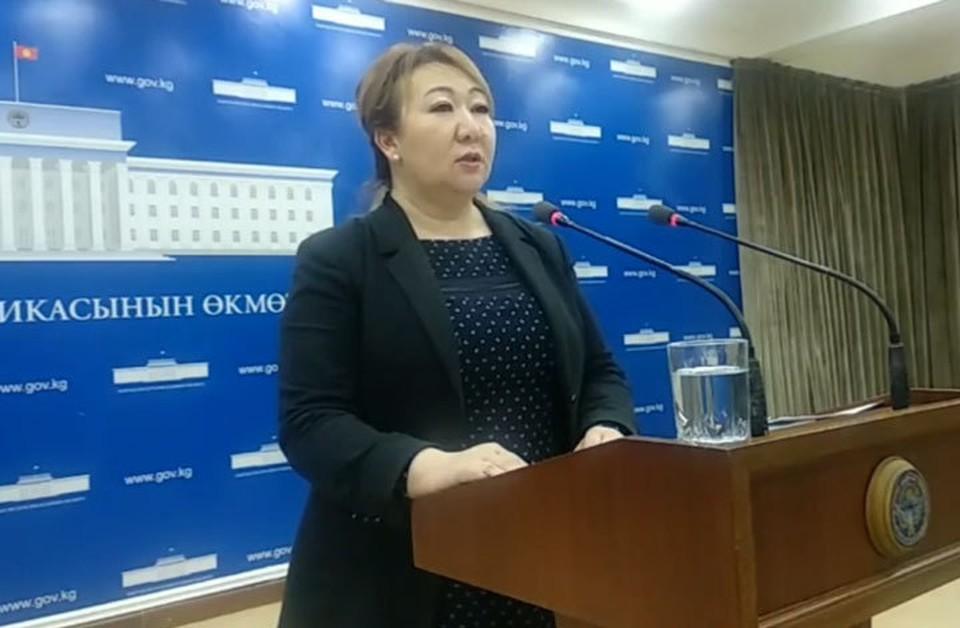 Представитель Минздрава рассказала, сколько аппаратов ИВЛ есть в Кыргызстане.