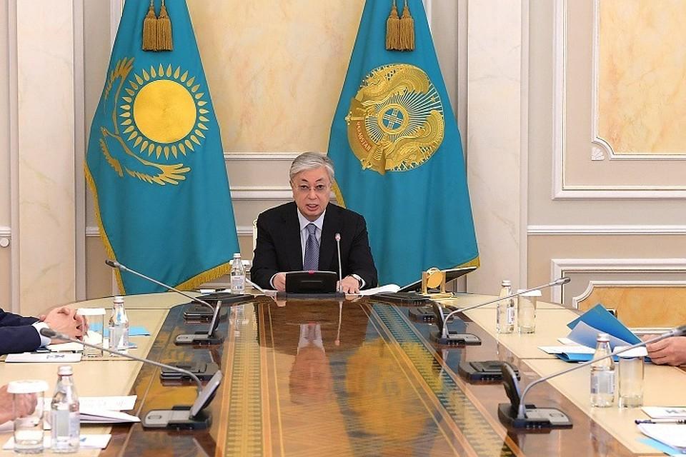 Токаев выступил на заседании госкомиссии по ЧП. О чем он говорил