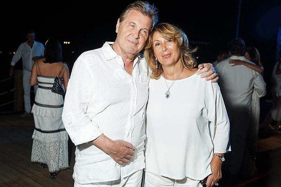 Лев Лещенко с супругой Ириной Багудиной