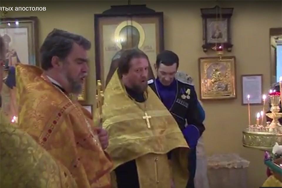Священник из Ленобласти Николай Киреев, которого осудили в Беларуси и выпустили на свободу в России, может вернуться за решетку. Фото: социальные сети.