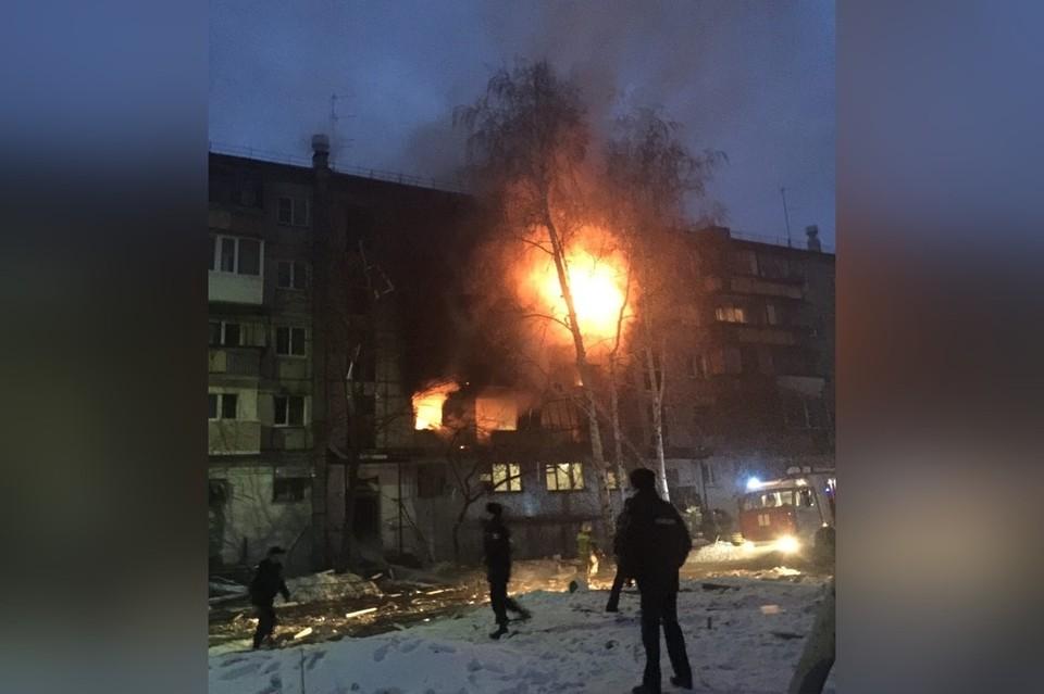 Снято очевидцем вскоре после взрыва. Фото: Максим Бобылев.