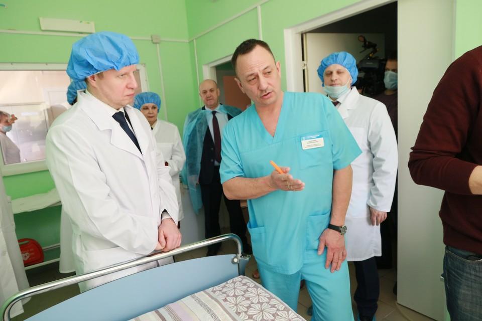Экскурсия по антикоронавирусному госпиталю