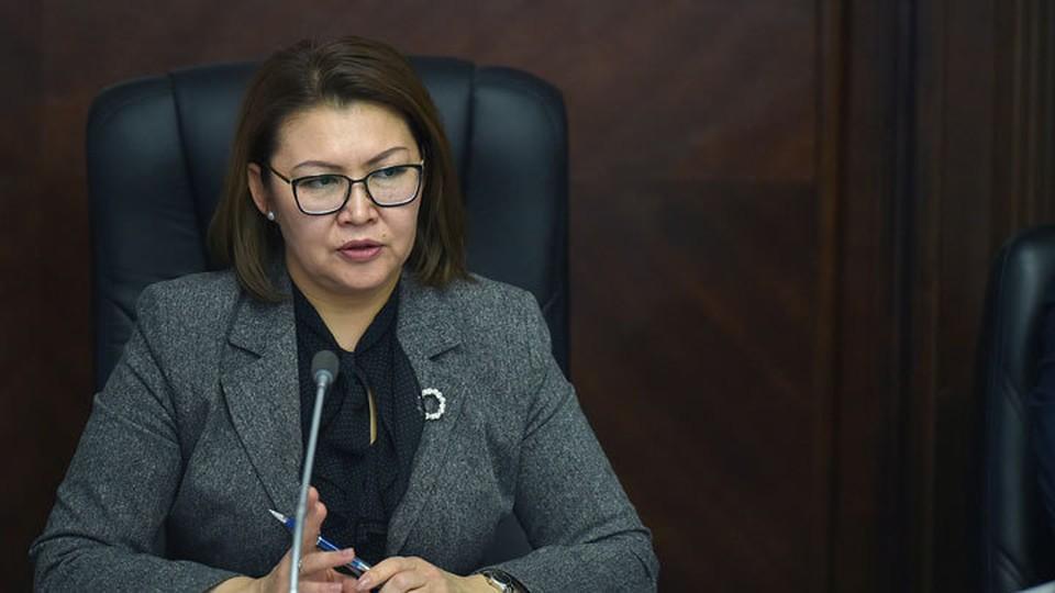 Алтынай Омурбекова лишилась поста после заседания Совбеза.