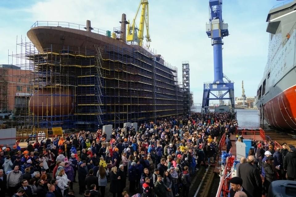"""В Петербурге появится """"Корпорация морского приборостроения"""" после соответствующего указа Владимира Путина."""