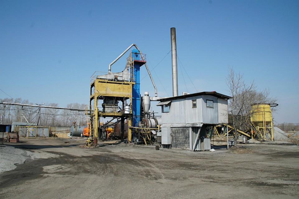 Первую порцию асфальта получат на асфальтобетонных заводах Хабаровска