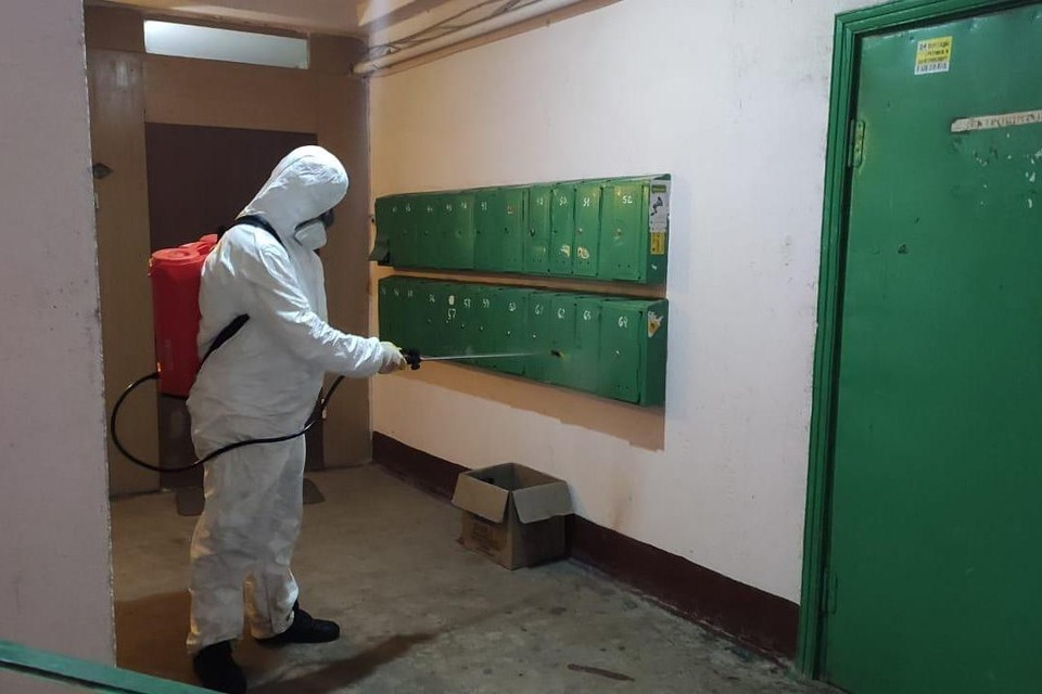В Липецке усилили санитарную обработку против коронавируса