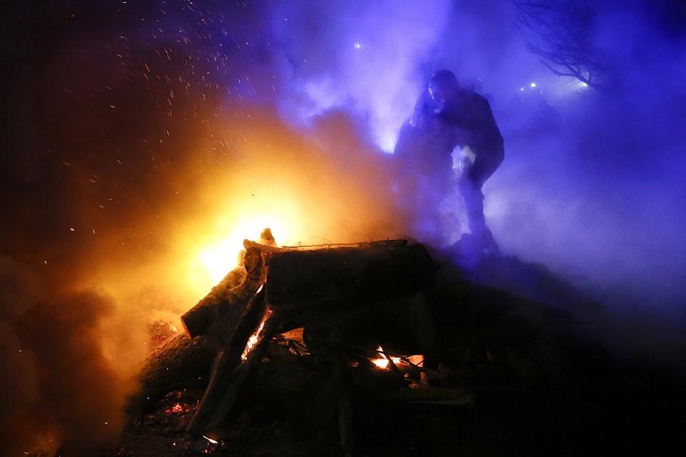 Некоторые с недовольством смотрят на своих карантинных соседей, но до погромов как на Украине дело не доходит