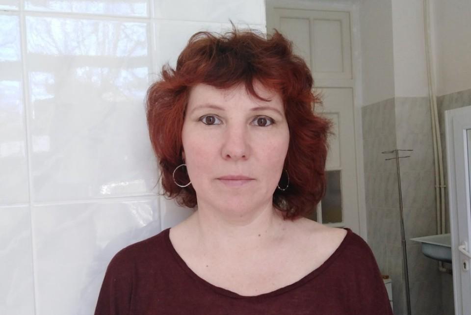 Специально для КП-Челябинск Ольга Пензина сделала снимок в инфекционном отделении больницы Магнитогорска, где она лежит в эти дни.