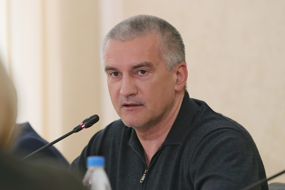 Сергей Аксенов. Фото: пресс-служба главы РК