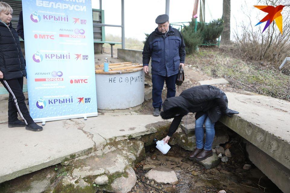 В Молодечненском районе экспедиция обнаружила как минимум три родника.