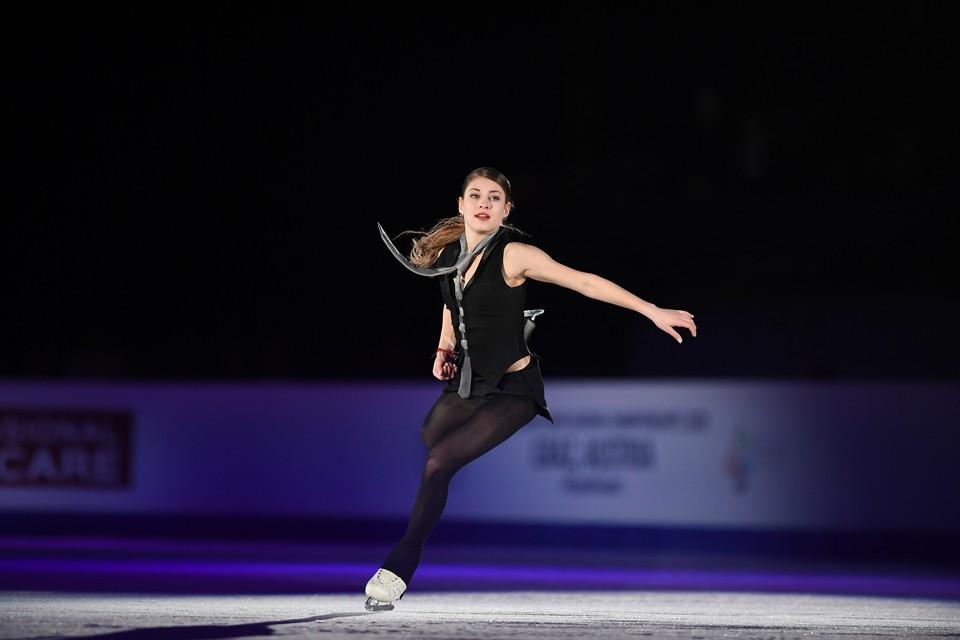 Алена Косторная - победительница чемпионата Европы и финала Гран-При ушедшего сезона.