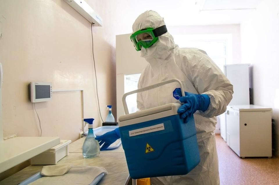 Женщина уже проходит лечение в инфекционном госпитале.