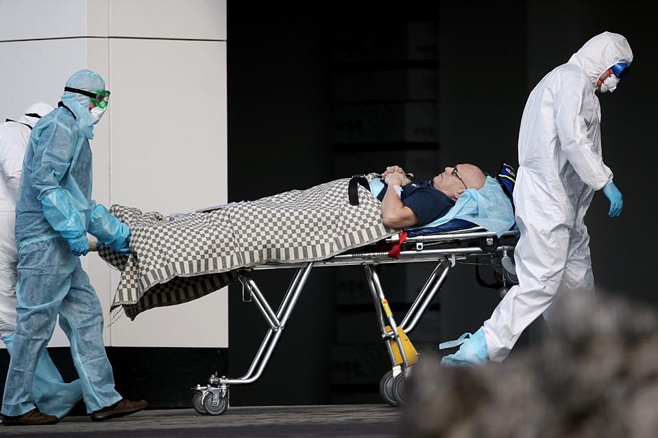 За последние сутки в России подтверждено 954 новых случая коронавируса в 49 регионах. Фото: Вячеслав Прокофьев/ТАСС