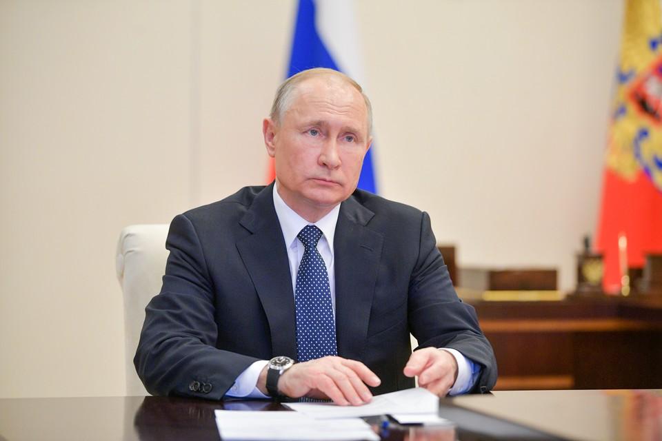 Президент РФ Владимир Путин. Фото: Алексей Дружинин/пресс-служба президента РФ/ТАСС