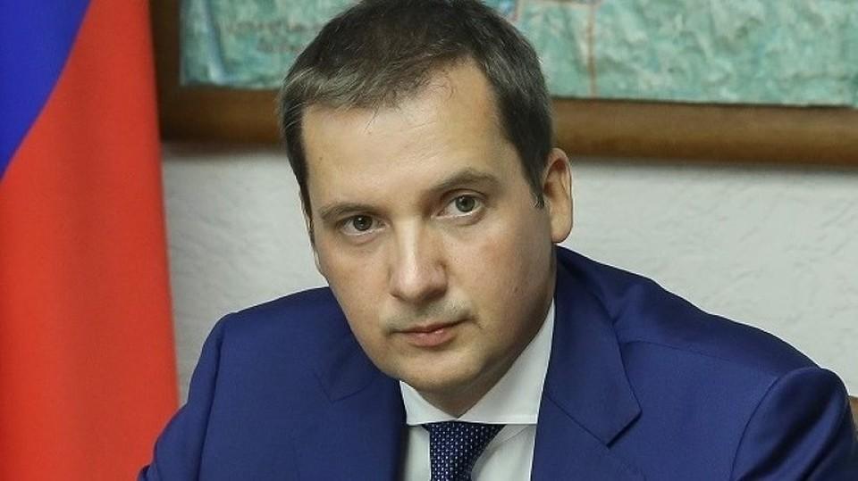 И. о. губернатора региона Александр Цыбульский утвердил меры поддержки регионального бизнеса. Фото предоставлено пресс-центром правительства Архангельской области.