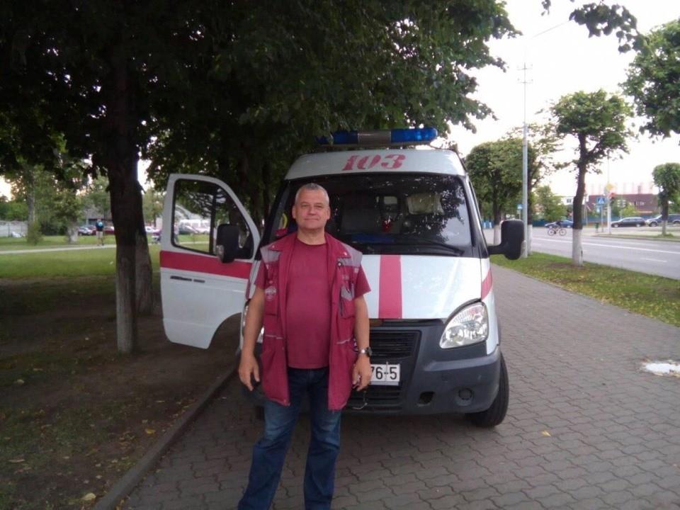 Василий больше 20 лет работал на «скорой». Фото со страницы Василия в фейсбуке
