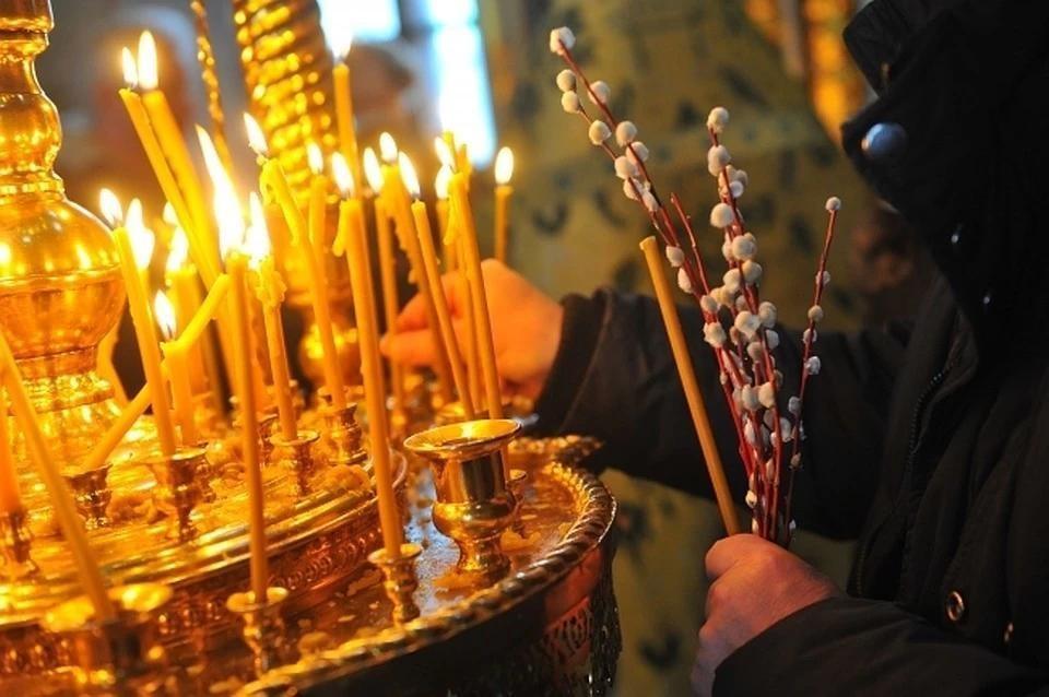 У православных 12 апреля - Вербное воскресенье.