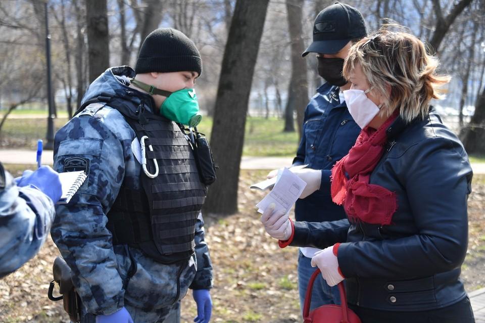 В Москве и Подмосковье введены цифровые пропуска