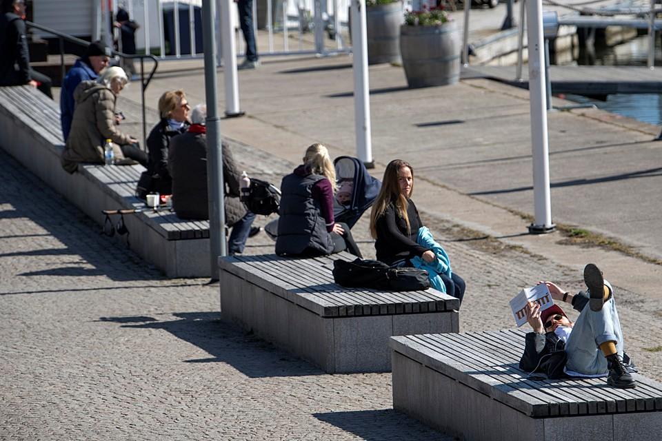 На 17 апреля в Швеции было выявлено 13216 заражённых вирусом. Это 20-е место в мире