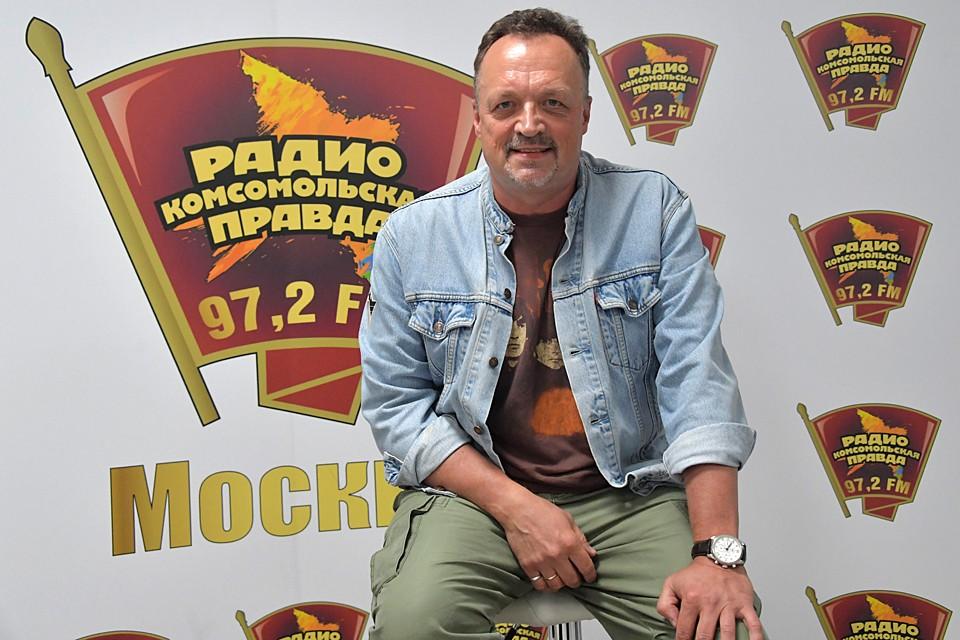 Виктор Гусев - болельщик бело-голубых