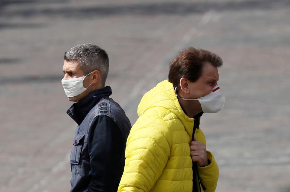 Жители Киева в дни пандемии коронавируса.