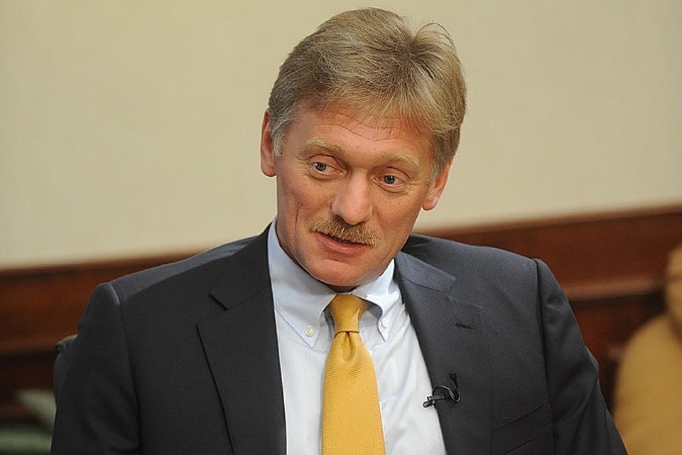 Дмитрий Песков считает, что доказательств нет, а делать заявления об искусственном происхождении вируса безосновательно