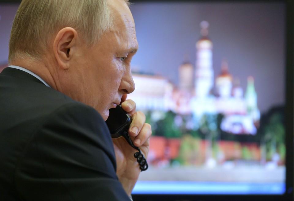 Состоялся телефонный разговор Владимира Путина и Дональда Трампа.