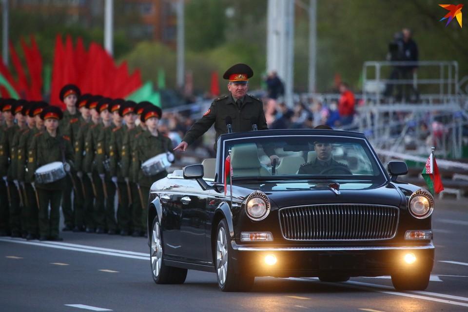 8 мая вечером в Минске прошла генеральная репетиция Парада Победы 2020.