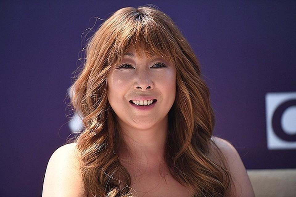 Певица Анита Цой.