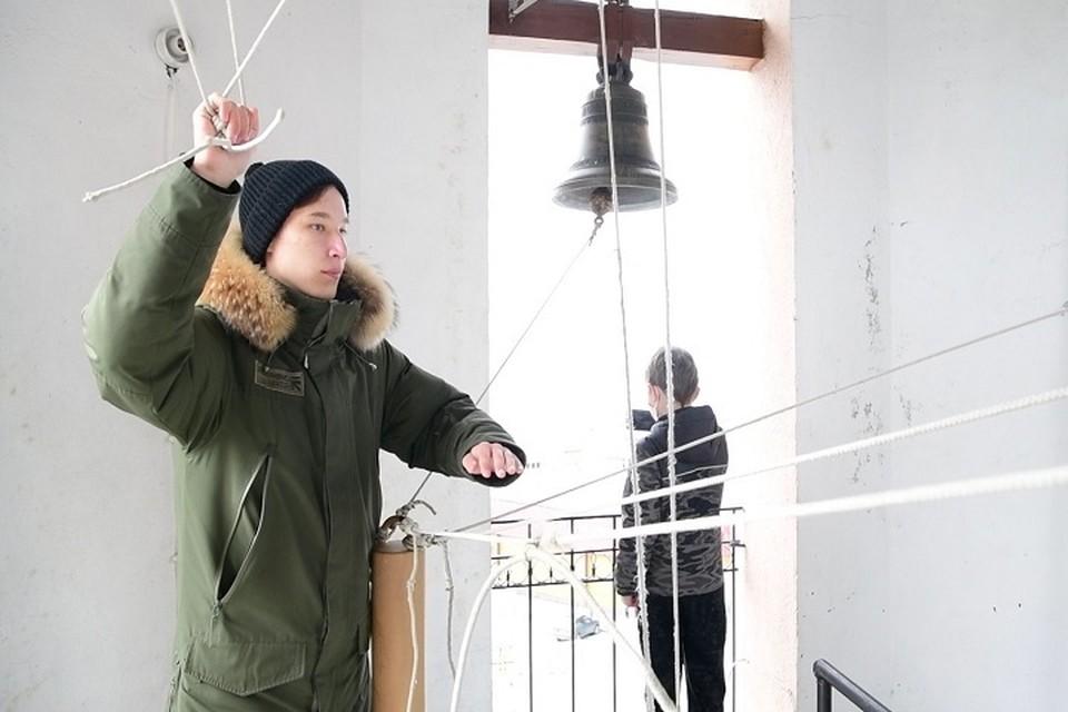 В Салехарде прошел конкурс звонарей Фото: Салехардская епархия РПЦ