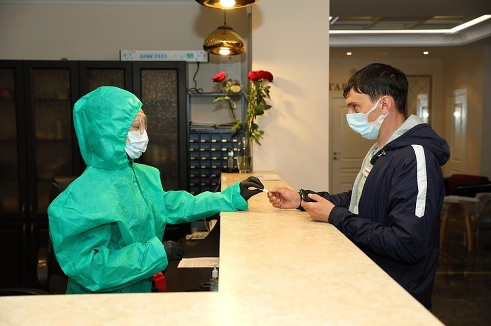 В гостиницах Ноябрьска разместили вахтовиков для проверки на коронавирус Фото: noyabrsk-dobycha.gazprom.ru