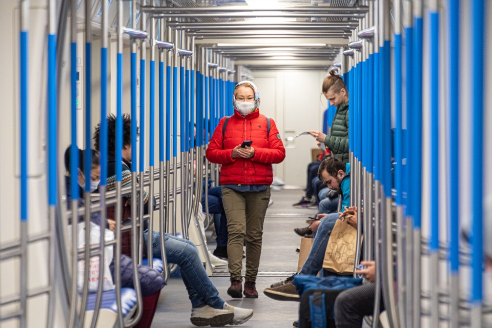 Возможно после самоизоляции в метро станет меньше пассажиров.