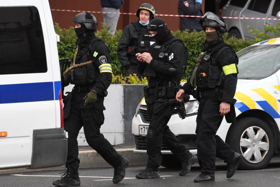 Росгвардия опубликовала кадры задержания террориста