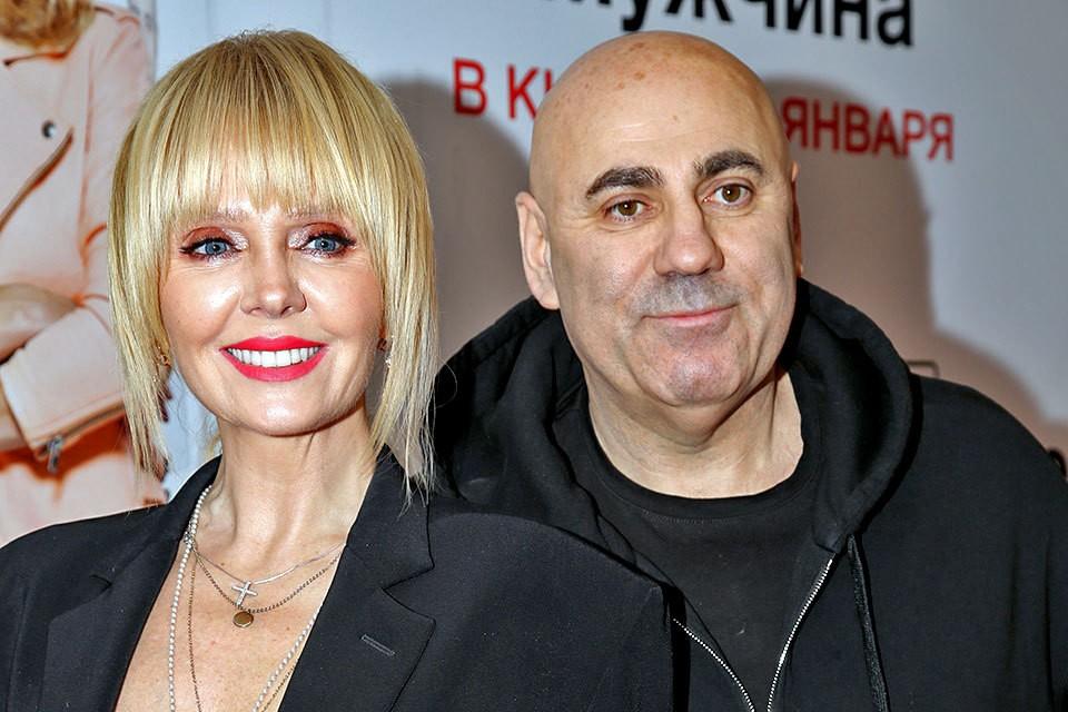 Валерия и ее муж продюсер Иосиф Пригожин
