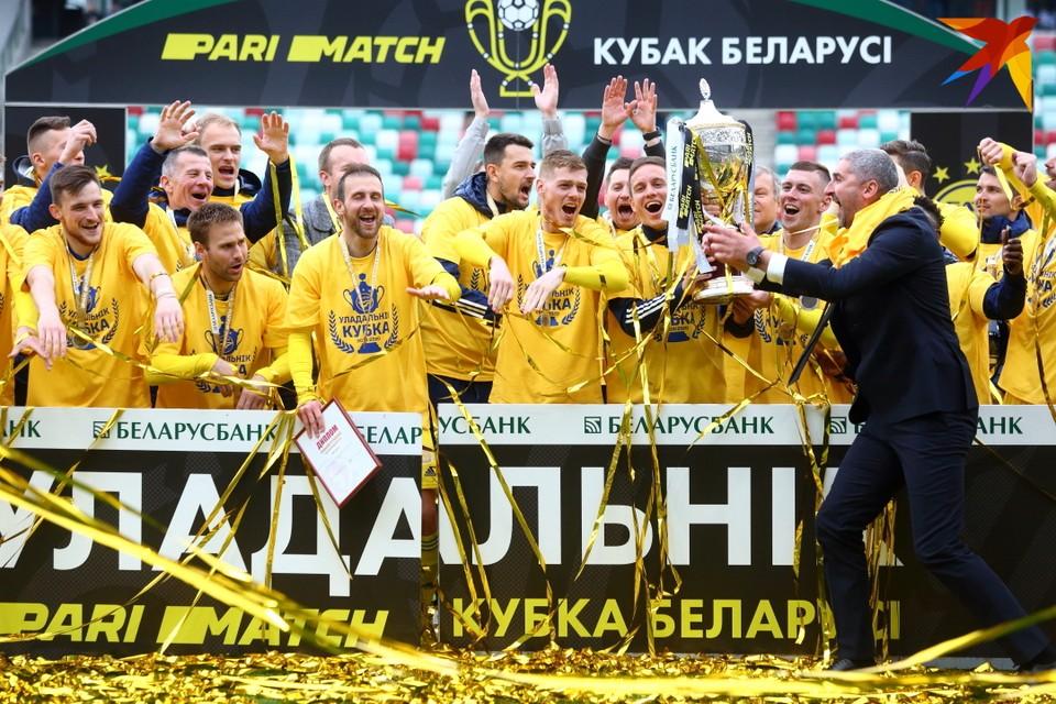 БАТЭ выиграл Кубок Беларуси сезона 2019/2020.