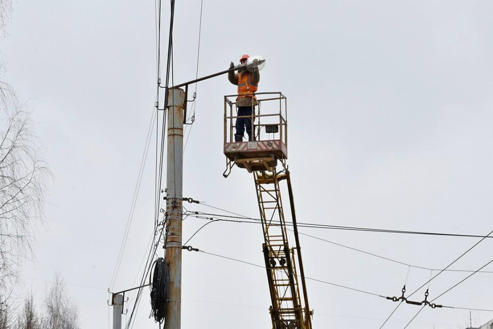 Власти города планируют установить 853 лампы. Фото: admkirov.ru
