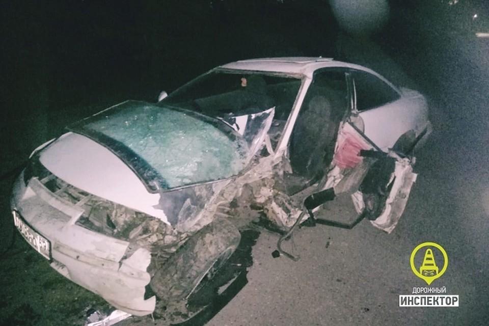 Под Лугой в ДТП попала семья с пьяным отцом за рулем. Фото: vk.com/dorinspb